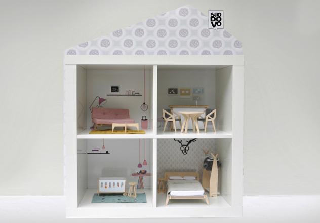 Mobili Per Casa Delle Bambole : Miniio dollhouse and design il pampano interior lifestyle kids
