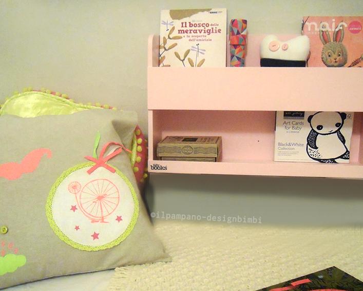 Scaffale Libreria Per Bambini : Top home solutions libreria a parete in legno per bambini