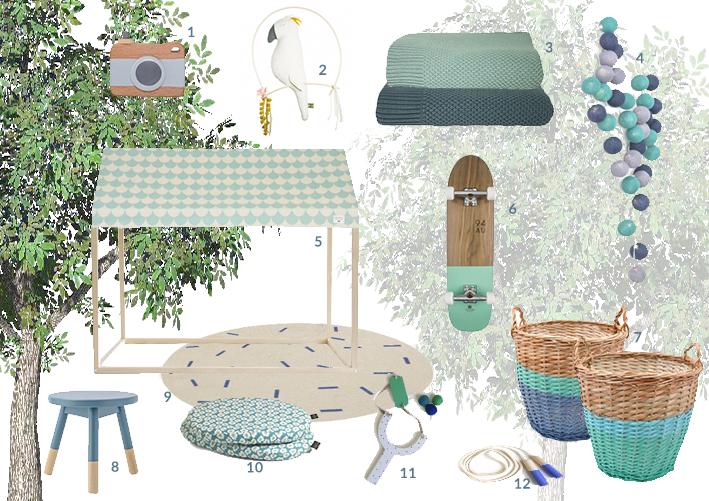 moodboard giardino