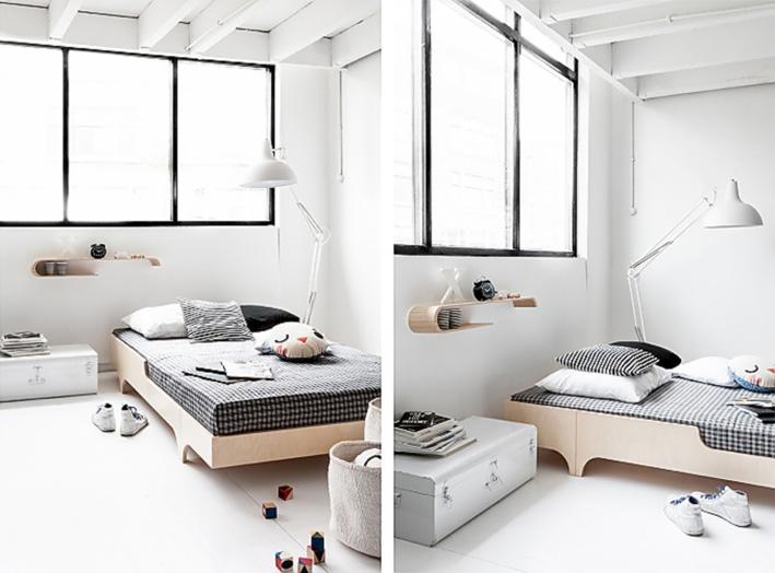 A teen bed 120