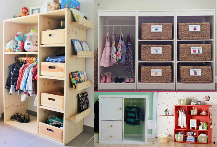 Cameretta Montessoriana Fai Da Te : L armadio nelle camerette montessori il pampano interior