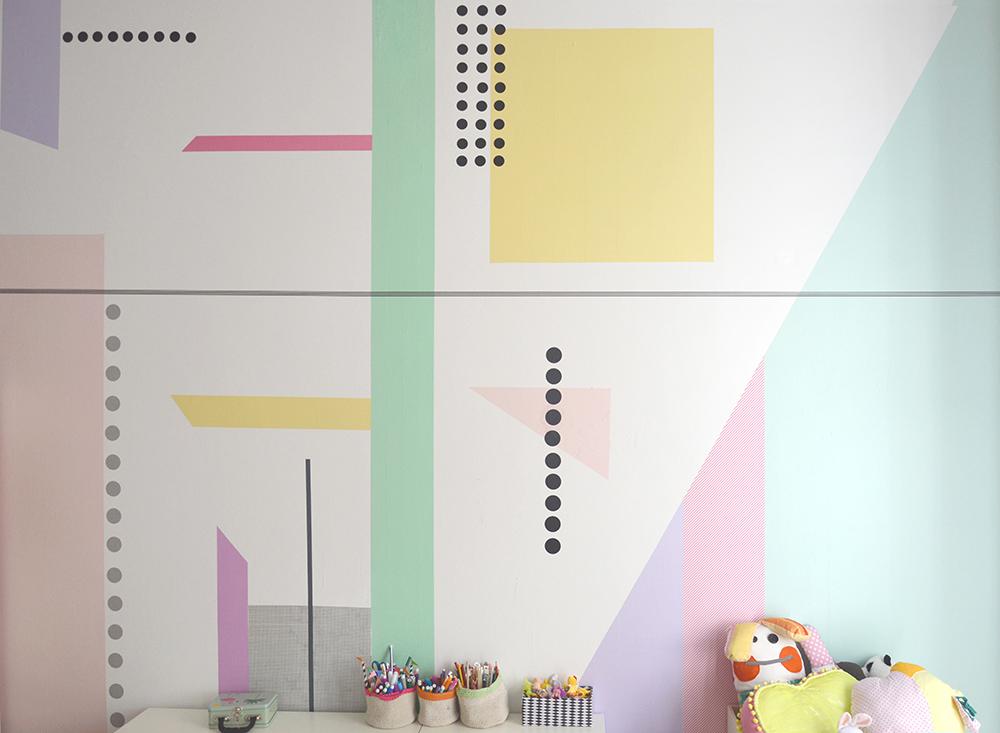 Pareti Cameretta A Pois : Stencil per camera da letto amazing stencil per camera da letto