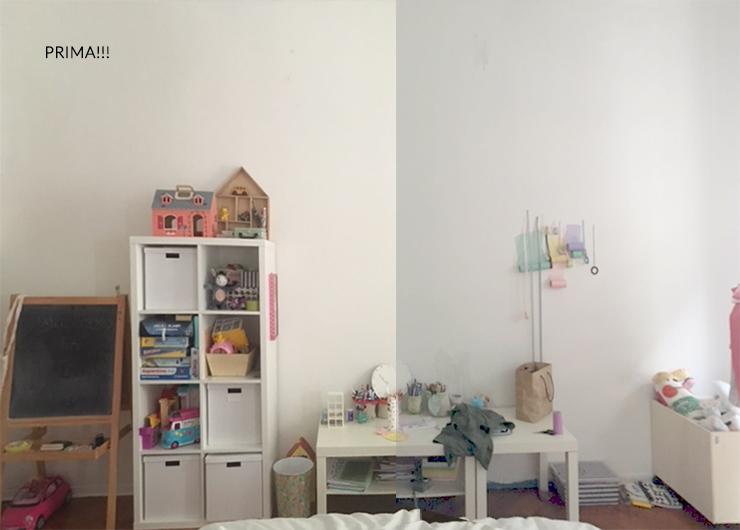 Pareti Cameretta A Pois : Come ho decorato le camerette usando gli adesivi spendendo meno