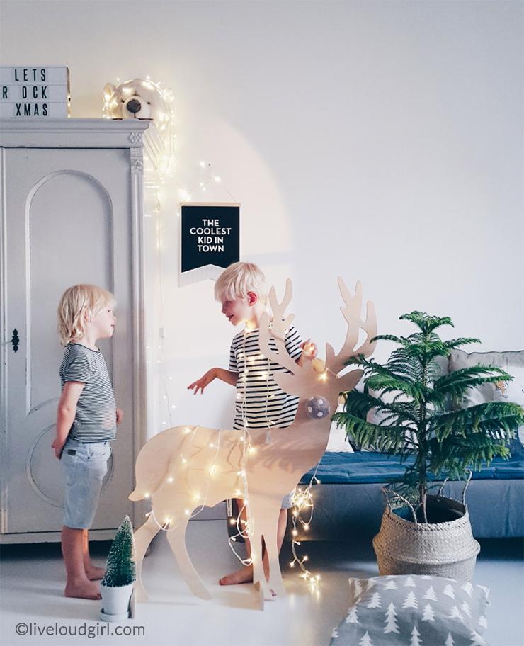 Decorare la cameretta per natale il pampano interior lifestyle kids - Decorare la cameretta ...