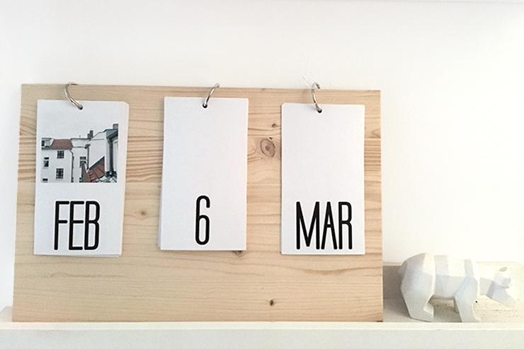 Calendario Perpetuo Da Parete.Calendario Perpetuo Fai Da Te Il Pampano Interior